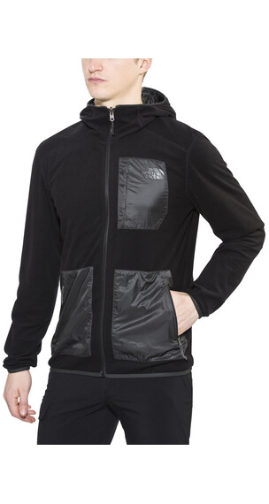 The North Face Wilkens Reversible Wind Hoodie Men tnf black/asphalt grey
